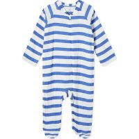 Stripe print baby-grow 3-6 months